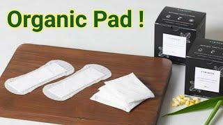 Organic Sanitary Pads    Carmesi Sanitary Pads Review    Biodegradable Natural pads