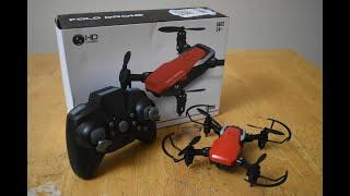 *January Giveaway* LF606 Foldable Drone...Unboxing, review, and giveaway details.