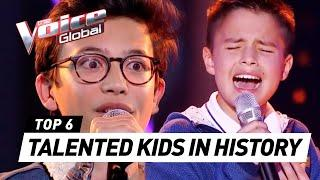 MOST TALENTED KIDS in The Voice Kids HISTORY