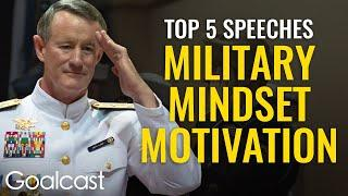 """TOP 5 EPIC MILITARY SPEECHES   """"Make Your Bed"""" and MORE! Train Your Mind Like The Military-Goalcast"""
