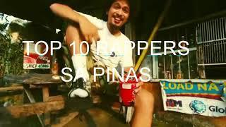 Top 10 Rappers sa Pinas