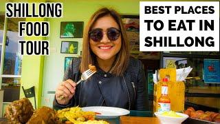 Top 5 Cafes in Shillong , Meghalaya | Shillong Food Tour | Street Food Police Bazar | Khasi Food