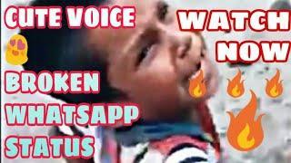 Heart Breaking cute voice whatsapp status || Whatsapp status|| OFFICIAL KOSHUR
