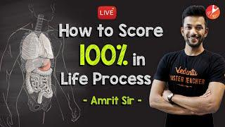How to Score 100% in Life Processes? CBSE Class 10 Science (Biology) Chapter 6 | NCERT | Vedantu