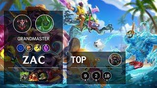 Zac Top vs Dr. Mundo - EUW Grandmaster Patch 10.3
