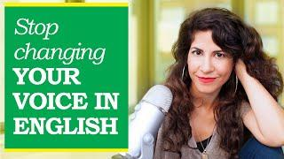 Do you change your voice when you speak English? Here's why (+ listen to my voice in Hebrew