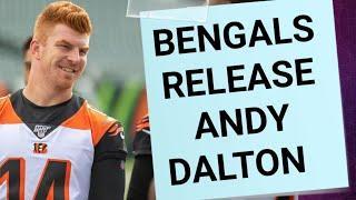 Bengals Release Andy Dalton
