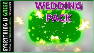 wedding pack love angel 2 Green Screen after effects Premiere pro Chroma Key Royalty Free