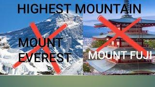 Mount Everest aur Mount Fuji se badha mountain.Top 10 mind blowing facts SEep2