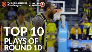 Turkish Airlines EuroLeague Regular Season Round 10 Top 10 Plays
