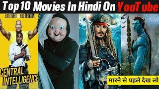 Top 10 Hollywood Hindi Dubbed Movies Available Now Youtube | part-12| Avatar Hindi Dubbed |