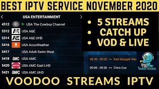 TOP IPTV SERVICE in 2020  | VOODOO STREAMS IPTV REVIEW  - DONT MISS OUT!