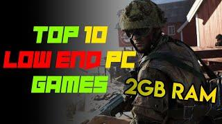 TOP 10 BEST LOW END PC GAMES 2021   LOW SPECS PC GAMES   2GB RAM PC GAMES NO GRAPHICS CARD