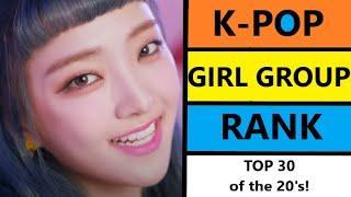 Kpop Girl Group Rank - Top 30 Kpop Girl Groups of the 20's - August 2021, Week 2