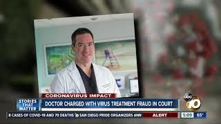 1st court hearing for local doctor charged in COVID-19 fraud scheme