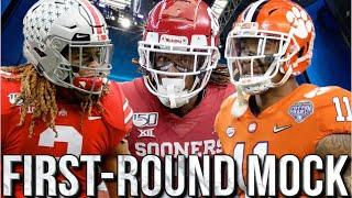 COMPLETE 2020 1ST ROUND NFL MOCK DRAFT