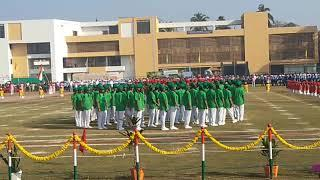 P.T. Mass Drill Done by Centre Primary English School Silvassa on 26th January 2020.