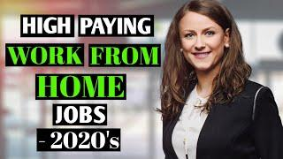 Top 3 High Paying Work From Jobs That You Must Start Now in 2020