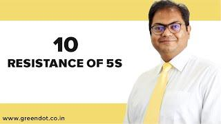 Top 10 resistance for 5s System Implementation, 5s change resistance.