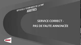 UMPV19- Pas de Faute de Service Annoncée (Service correct)
