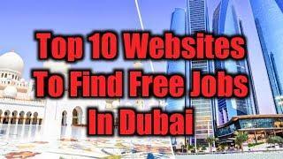 Top 10 Websites To Find Free Jobs In Dubai || Dubai Job Popular Search Sites