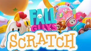How To Make Fall Guys Runner In Scratch | Tutorial