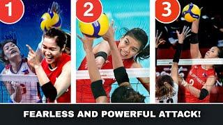 TOP 10 Fearless and Powerful Attacks of the Philippine Team    Attacking The Best in South East Asia