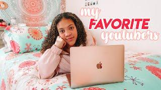 my top 10 favorite youtubers that you need to watch !!