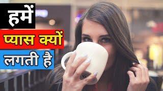 हमें प्यास क्यों लगती है ? | Amazing fact in hindi | facts in hindi | Interesting fact in hindi