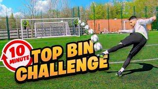 IMPOSSIBLE 10 MINUTE TOP BINS CHALLENGE!