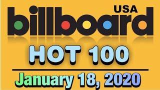 Billboard Hot 100 Chart | Top 100 Songs This Week | Top 50 Songs This Week 2020 | January 18, 2019