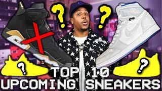 TOP 10 MOST ANTICIPATED Sneaker Releases Of 2020! (Upcoming January 2020 Sneaker Releases)
