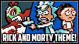 Rick and Morty Pokemon Theme Battle!