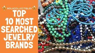 Top 10 Most Searched for Jewelry Brands | Reseller Research | Jewelry ID