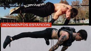 Top 10  movimentos estáticos do STREET WORKOUT/motivacional calisthenics
