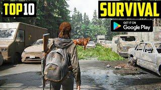 Top 10 SURVIVAL Games for Android in 2020 | HIGH GRAPHICS (Online/Offline)