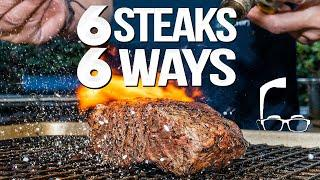 THE ULTIMATE STEAK VIDEO (6 STEAKS 6 DIFFERENT WAYS) | SAM THE COOKING GUY