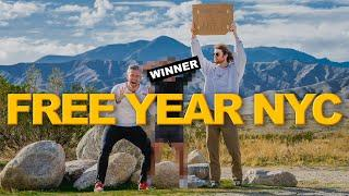 I GAVE AWAY A FREE YEAR IN NYC TO.... | Ryan Serhant Vlog #100