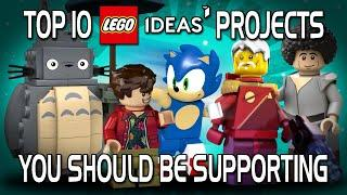Top 10 LEGO Ideas Projects You Should Be Supporting!