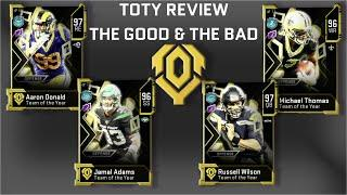 Madden 20 Ultimate Team | Team of the Year Top 10 Cards & 5 Letdowns
