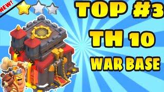 Top 3 town hall 10 war base layout anti 2 stars  link in description copy   clash of clans