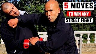 5 BEST Moves to WIN any Street Fight | Wing Chun Combat ✅