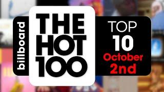 Early Release! Billboard Hot 100 Top 10 Singles  (October 2nd, 2021) Countdown