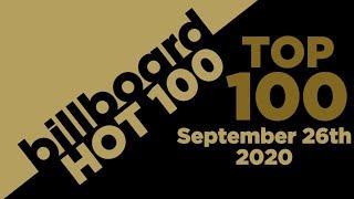 Billboard Hot 100 Top Singles This Week (September 26th, 2020)