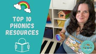 Top 10 resources to use to teach your child phonics and how to read Montessori style.  DIY resources