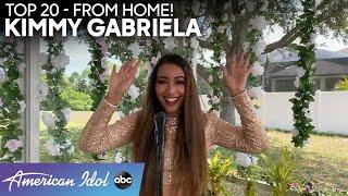 STUNNING! Kimmy Gabriela Performs an Ariana Grande Hit From HOME! - American Idol 2020