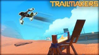 Who Can Build the Best Catapult Stunt GLIDER? (Trailmakers Multiplayer Gameplay)
