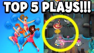 TOP 5 BEST PLAYER MOMENTS! World War Doh High Level Gameplay and Strategy