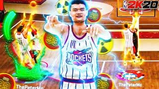 "99 OVR 7'6"" YAO MING RETURNS TO THE *TOXIC* 1v1 COURT ON NBA 2K20!! Best Center Build Takes Over!"