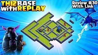 *TERRIFIC* Best TH12 War Base & TH12 Legend League Base w/ Link - Town Hall 12 - Clash of Clans #30